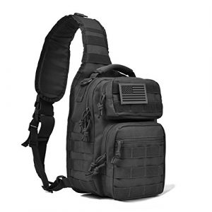 REEBOW GEAR Tactical Backpack 1 Tactical Sling Bag Pack Military Rover Shoulder Sling Backpack