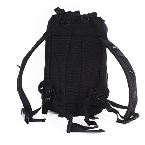 """MediTac Tactical Backpack 3 MediTac Tactical Assault Pack - First Aid Rucksack - 18"""" Military MOLLE Backpack"""