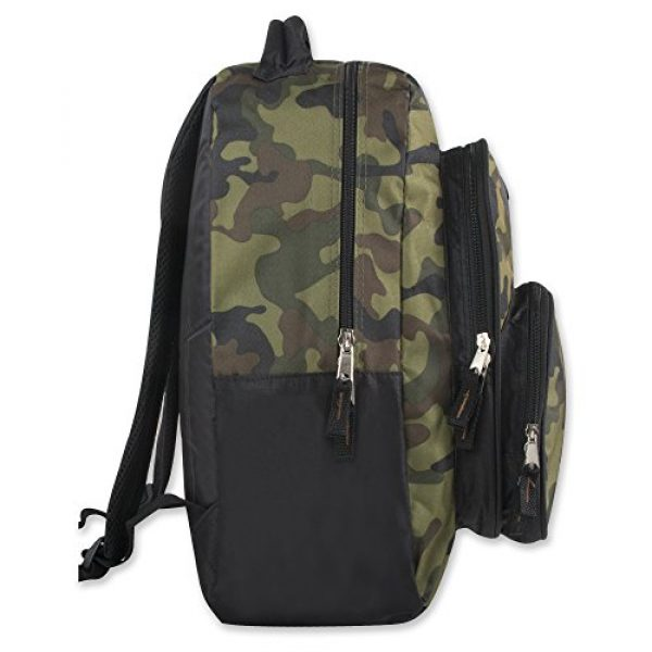 Trailmaker Tactical Backpack 3 Trail maker Tactical Camo Backpack for Boys, Girls, Men, Women for School and Travel (Green Camo)