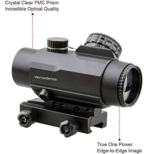 1/2 MOA Compact Tactical Prism Riflescope