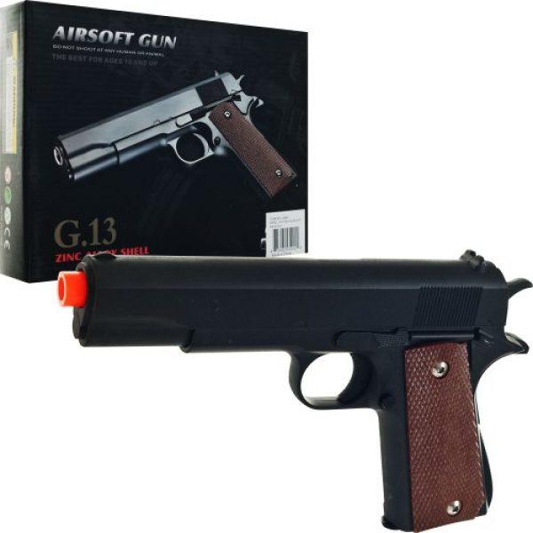 Whetstone Airsoft Pistol 1 Whetstone G.13 1911 Zinc Alloy Airsoft Pistol
