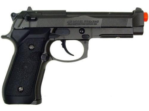 Prima USA Airsoft Pistol 5 HFC m9 tactical gas blowback airsoft pistol full metal construction air soft gun(Airsoft Gun)