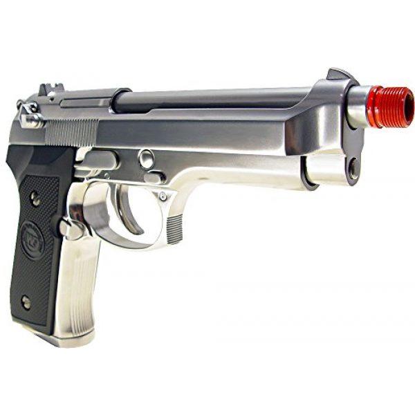 WE Airsoft Pistol 3 WE m92 gas/co2 blowback full metal - silver(Airsoft Gun)