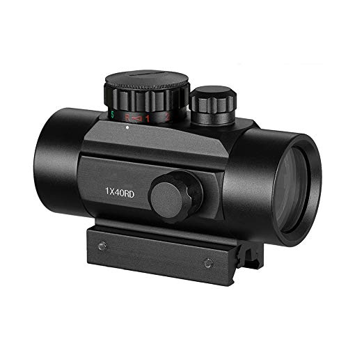 TGUANG Rifle Scope 3 TGUANG 1x40 Riflescope Tactical Red Dot Scope Sight Hunting Holographic Green Dot Sight with 11mm 20mm Rail Mount