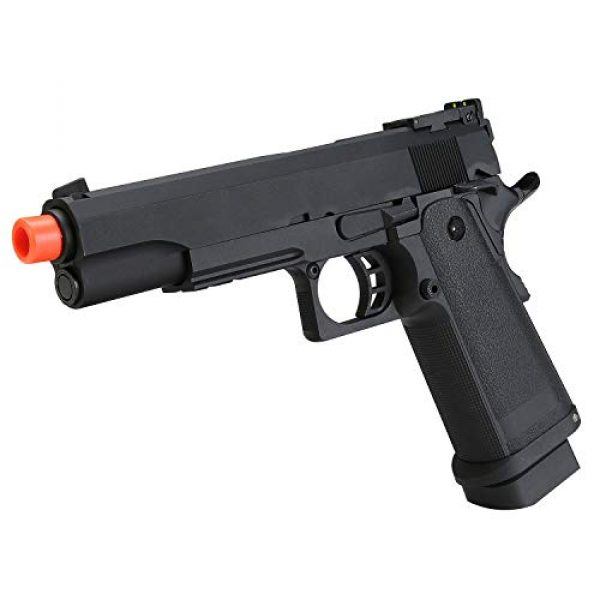SRC Airsoft Pistol 5 HI-CAPA 5.1 Green Gas Airsoft Pistol Free Speed Loader BBS and Gun Case [Airsoft Blowback]