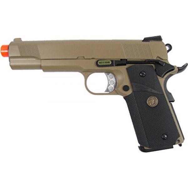 WE Airsoft Pistol 1 WE meu 191 gas blowback full metal - tan(Airsoft Gun)