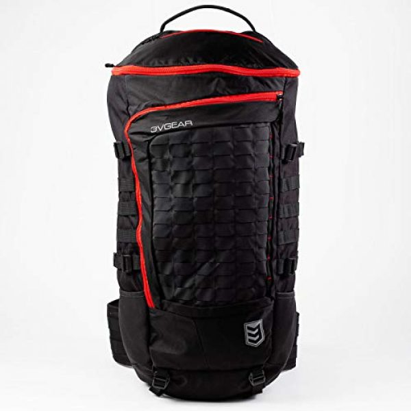 3V Gear Tactical Backpack 2 3V Gear Sovereign Redline Internal Frame Backpack - 50 Liter