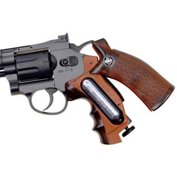 "Boomingisland Airsoft Pistol 4 Boomingisland Wingun 702 6"" Airsoft CO2 Revolver Black"