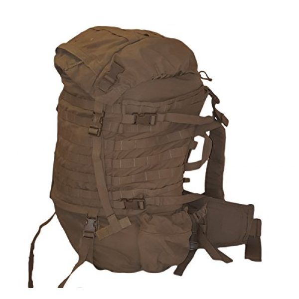 Eagle Tactical Backpack 1 Eagle FILBE USMC Main Pack Coyote Brown with Frame and Waist Belt