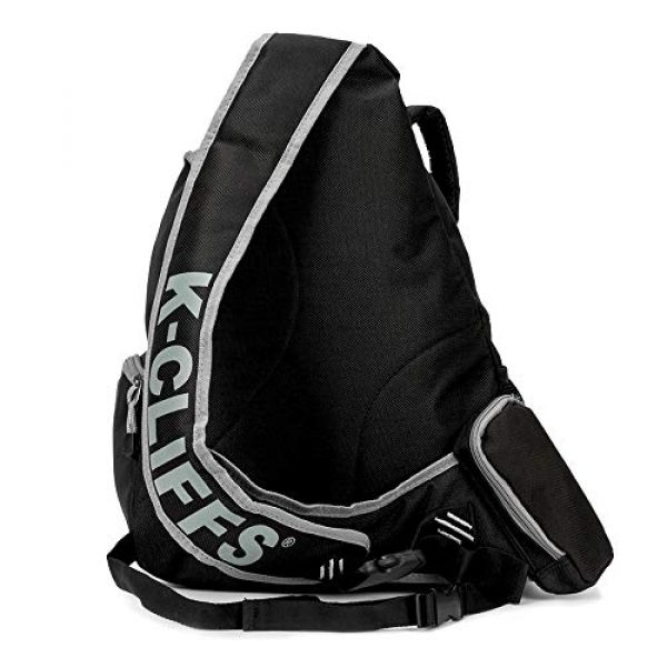 K-Cliffs Tactical Backpack 4 K-Cliffs Heavy Duty Sling Backpack Water-Resistant Laptop Bookbag Body Bag Bright Color Safety Reflective Stipe