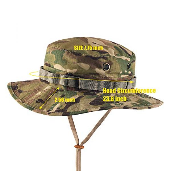 GLORYFIRE Tactical Hat 2 GLORYFIRE Boonie Hat Military Tactical Boonie Hats for Men Women Hunting Fishing Outdoor