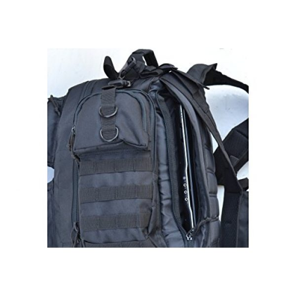 Explorer Tactical Backpack 6 Explorer Tactical Gun Concealment Backpack With Molle Webbing Hydration Ready