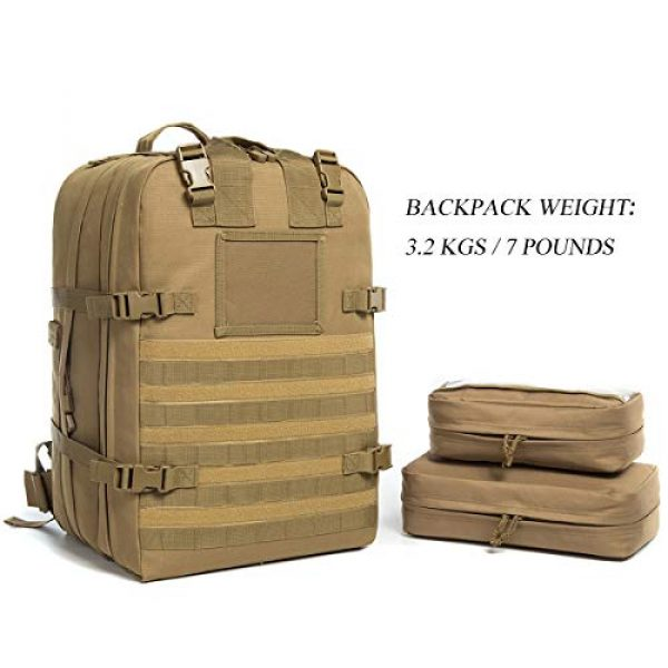 J.CARP Tactical Backpack 2 J.CARP Tactical Medical Backpack, Jumpable Field Med Pack