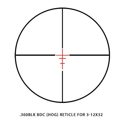 Sightmark Rifle Scope 7 Sightmark 3-12x32 Scr-300 Riflescope