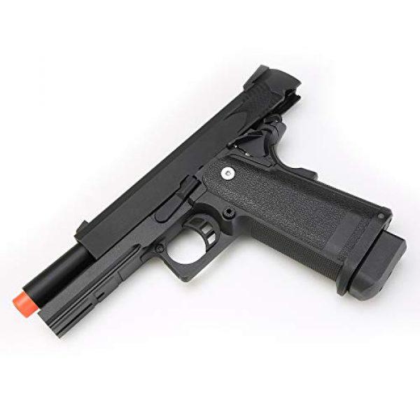 BULLDOG AIRSOFT Airsoft Pistol 6 SRC Hi-Capa 5.1 Gas Airsoft Pistol [Airsoft Blowback]