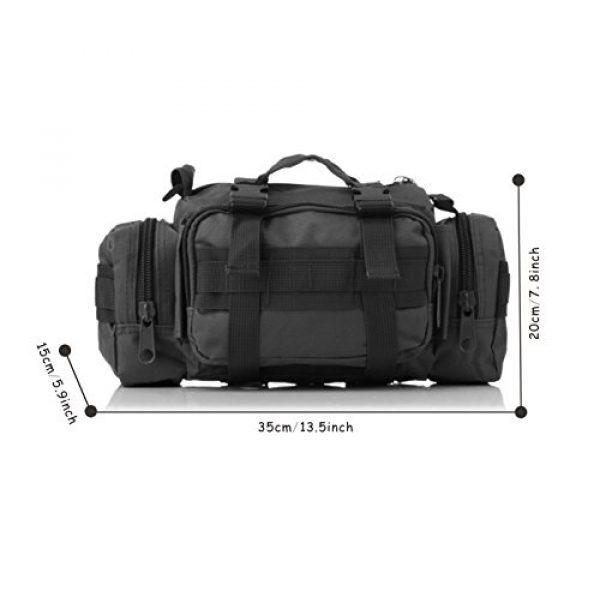 DOUN Tactical Backpack 5 DOUN Tactical Waist Bag Military Versatile Tactical Deployment Bag Hand Carry Bag Molle Waist Pack Camera Bags
