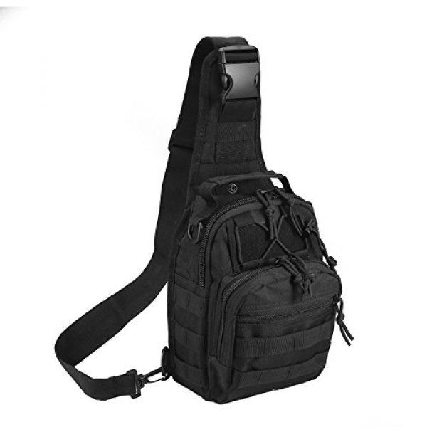 Novemkada Tactical Backpack 1 Tactical Shoulder Bag,1000D Outdoor Military Sling Daypack Backpack