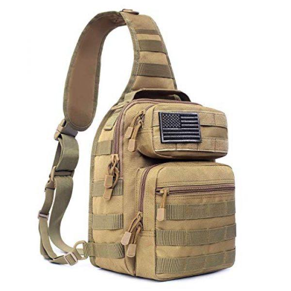 Tacticool Tactical Backpack 1 Tactical Sling Bag Pack Military Rover Shoulder Sling Backpack Molle Assault Range Bags Chest Pack Day Pack Diaper Bag