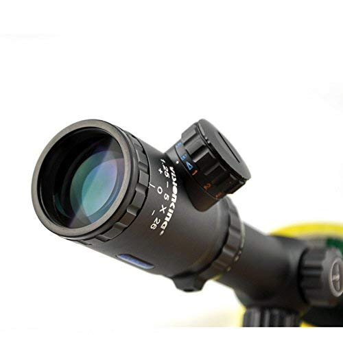 Visionking Rifle Scope 3 Visionking 1.25-5x26 Rifle Scope with Picatinny Rings
