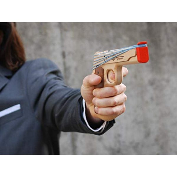 Elastic Precision Rubber Band Pistol 1911 Model 4 Elastic Precision Model 1911 Rubber Band Gun