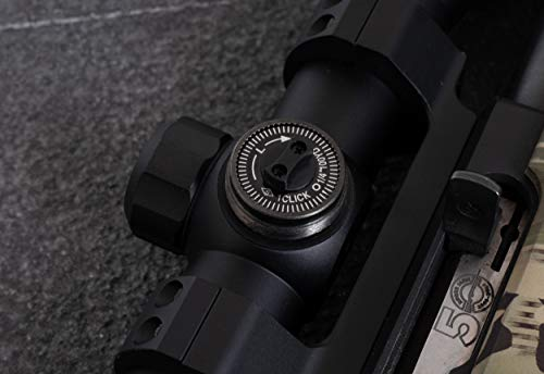 Monstrum Rifle Scope 4 Monstrum 3-9x40 Rifle Scope with AO Adjustable Objective | with Ruger 10/22 Dual Ring Scope Mount