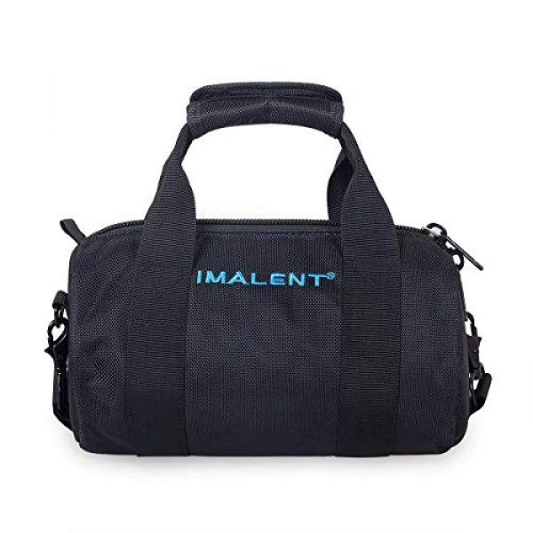 IMALENT Tactical Backpack 1 IMALENT MS12 Bag Outdoor Tactical Bags Utility Pouch, Waterproof Messenger Shoulder Bag EDC Pouch Carrying Case for DX80,R90C, MS18, R90TS and Electronic Product