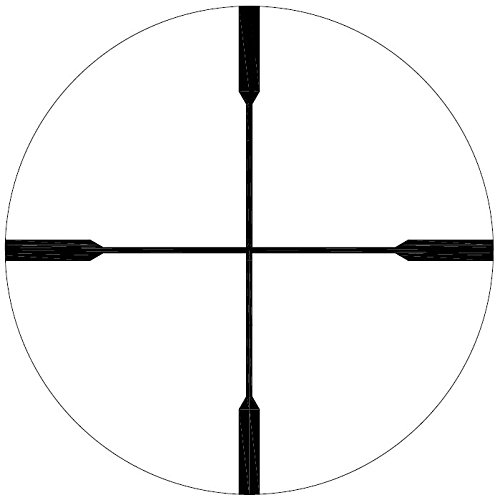 Barra Rifle Scope 7 Barra Rifle Scope, FT 1.5-8x24 [Made in Japan] for Hunting and Tactical Shooting Duplex Crosshair Reticle