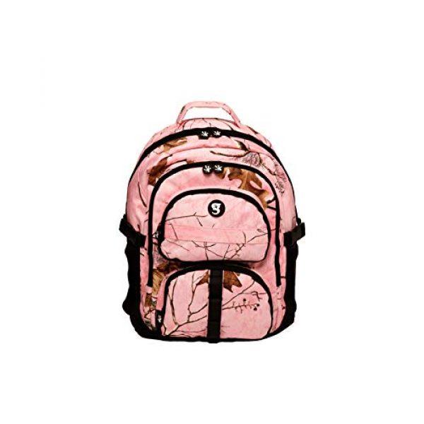 geckobrands Tactical Backpack 1 geckobrands Optivate RT18 Realtree Camouflage Backpack for School & Work