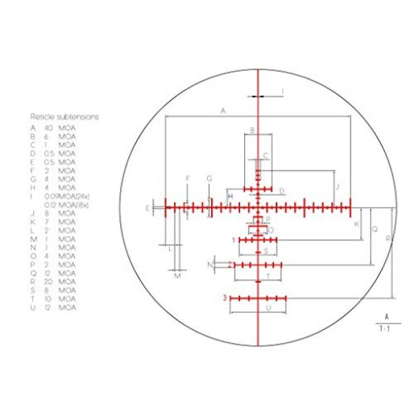 Vector Optics Rifle Scope 6 Vector Optics Everest Genii 3-18x50mm, 1/4 MOA, 30mm Tube, Second Focal Plane (SFP) Tactical Riflescope