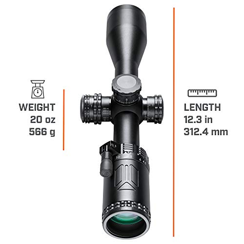 Bushnell Rifle Scope 4 Bushnell 4.5-18x40mm AR Optics, Illuminated_AR741840EI