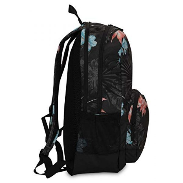 Hurley Tactical Backpack 3 Hurley Renegade Laptop Backpack, Anthracite (Lanai), one size