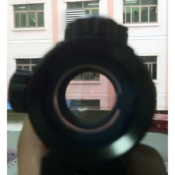 NoGa Rifle Scope 4 Noga Tactical 1x40 Red and Green Dot Sight Scope W/10mm-20mm Weaver Mount