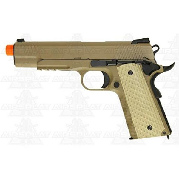 WE Airsoft Pistol 1 WE 1911 tactical gas blowback gun desert(Airsoft Gun)