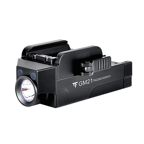 Acid Tactical Weapon Light 1 Pistol Flashlight Compact Handgun Tactical Flashlight 510 Lumens Rechargeable