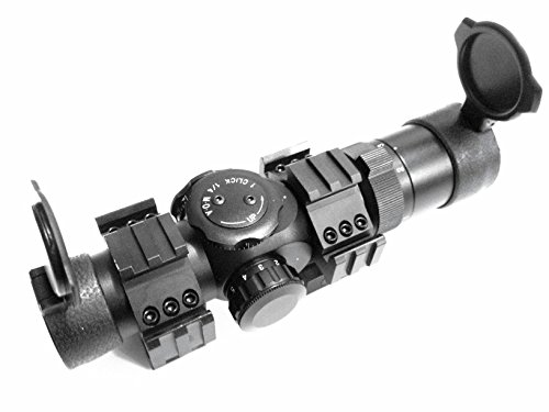 Ade Advanced Optics Rifle Scope 1 Ade Advanced Optics 1-6x28 First Focal Plane FFP CQB Rifle Scope 35mm Tube M4-62 Reticle, Mounts Included.