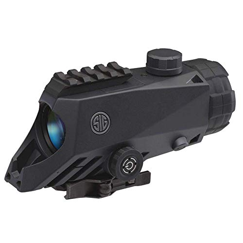 Sig Sauer Rifle Scope 2 Sig Sauer Bravo4 4x30mm Graphite Illum. 5.56/7.62 Horseshoe Dot Reticle Battle Sight