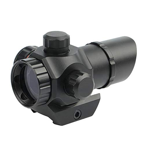 UELEGANS Rifle Scope 3 UELEGANS Tactical red dot Sight Scope 1X22 Adjustable Reflex Red/Green dot Holographic Sight for 20mm Rail