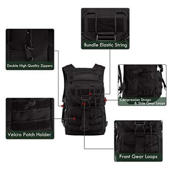 Supersun Tactical Backpack 2 Supersun Tactical Military Backpack Molle - 35L Tactical Backpack Laptop Rucksack Survival Bag Bugout Assault Pack