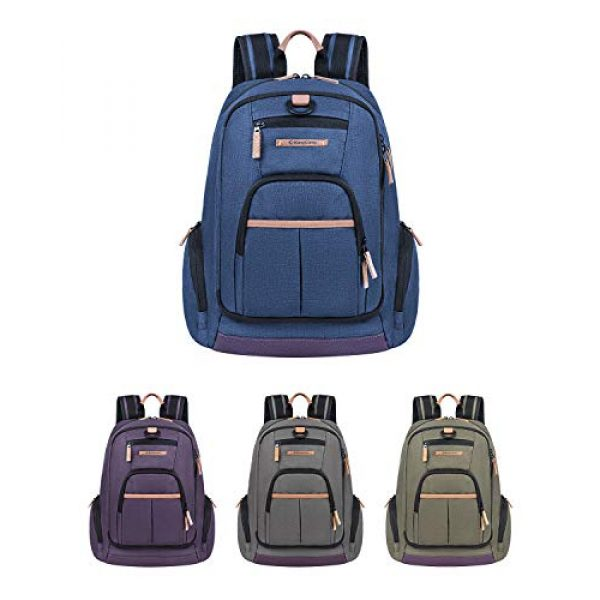 KingCamp Tactical Backpack 7 KingCamp Waterproof Laptop Backpack 17.3 inch for Women & Men Casual Daypack Backpack