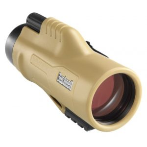 Bushnell Rifle Scope 1 Bushnell Legend Ultra HD Monocular with Mil-Hash Reticle, 10 x 42-mm, Tan