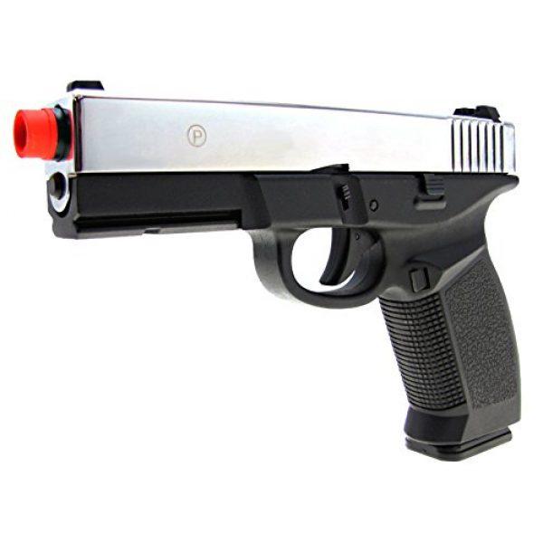 HFC Airsoft Pistol 2 HFC model-dark hawk full metal two-tone w/gun case(Airsoft Gun)