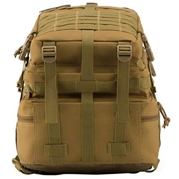 Luckin Packin Tactical Backpack 5 Luckin Packin Military Tactical Backpack, Molle Bag, Rucksack Pack, 45 Liter Large