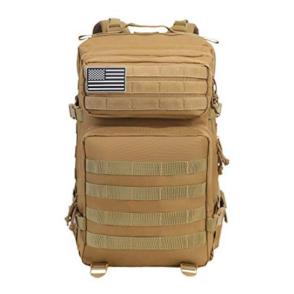 YOMEGO Tactical Backpack 2 YOMEGO Durable Tactical Backpack Travel Bug-Out Bag Great Tactical Survival Gear for Men and Women, 45L