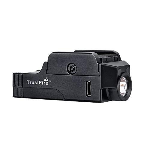 Acid Tactical Weapon Light 3 Pistol Flashlight Compact Handgun Tactical Flashlight 510 Lumens Rechargeable