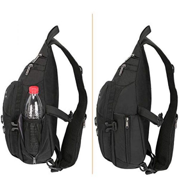 Vanlison Tactical Backpack 5 Vanlison Sling Backpacks, Sling Chest Bags Shoulder Crossbody Bags for Men Women Outdoor Travel Walking Dog Running