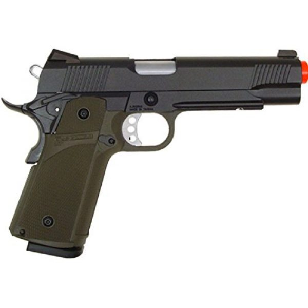 KJW Airsoft Pistol 3 gbb-615g - KJW full metal semi auto gas blowback pistol with free target trip tent(Airsoft Gun)