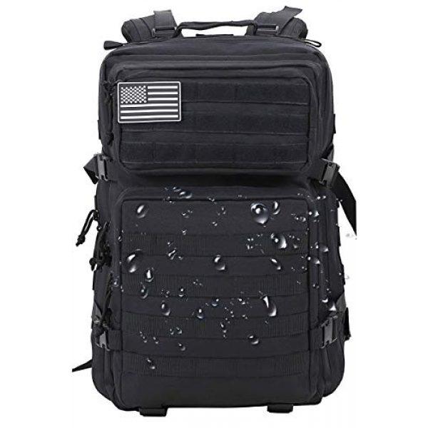 Luckin Packin Tactical Backpack 3 Luckin Packin Tactical Backpack,Military Backpack,Molle Bag 45 Liter Large 2 Pack
