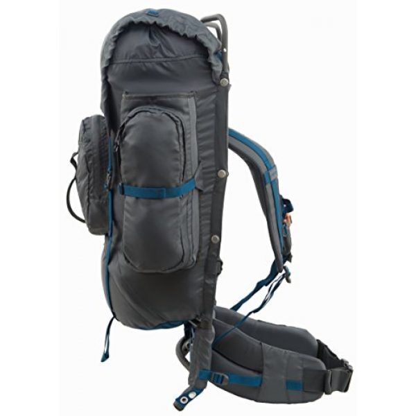 ALPS Mountaineering Tactical Backpack 2 ALPS Mountaineering Zion External Frame Pack, 64 Liters