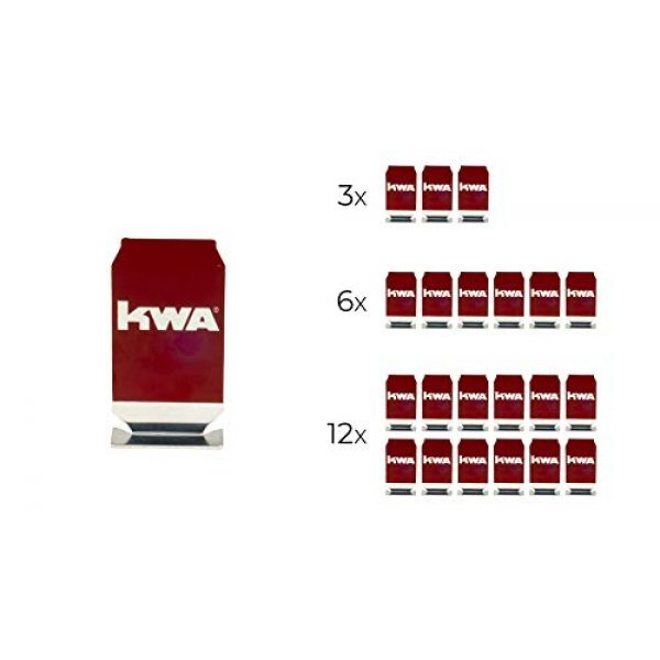 KWA Airsoft Pistol 2 KWA at-Home Self-Defense Training Kit M9 with 1000rd BBS Complete Kit (12-Pack of Targets)