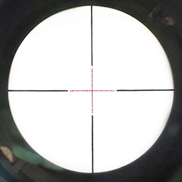 SECOZOOM Rifle Scope 6 SECOZOOM 4-50x75 ED Lens Rifle Scope New Mil Dot Reticle SF Extra-Low Dispersion Glass Optically Flawless Aspheric Apochromatic Lenses Riflescope W 35mm Mounts & Sunshade